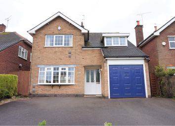 Thumbnail 4 bed detached house for sale in Asquith Boulevard, Leicester
