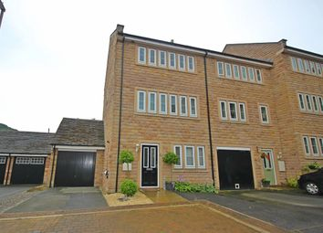 Thumbnail 3 bed town house for sale in Moorbrook Mill Drive, New Mill, Holmfirth
