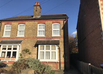 Thumbnail 4 bed property to rent in Clarence Street, Egham