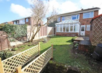 Thumbnail 4 bed semi-detached house for sale in Bents Close, Clapham, Bedford