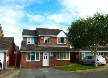 Thumbnail 5 bed detached house for sale in Bacon Close, Giltbrook, Nottingham