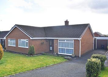 Thumbnail 4 bed detached bungalow for sale in Pentrosfa Road, Llandrindod Wells
