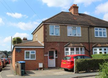 Thumbnail 4 bed semi-detached house to rent in Rusham Road, Egham
