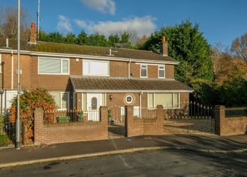 Thumbnail 4 bed semi-detached house for sale in Cawthorne Avenue, Grappenhall, Warrington