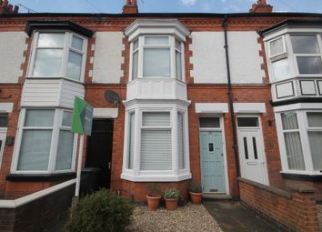 Thumbnail 2 bed terraced house for sale in Haddenham Road, West End, Leicester