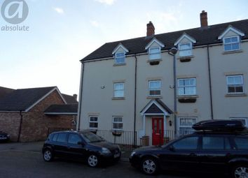 Thumbnail 3 bed town house to rent in Browning Close, Bromham, Bedford