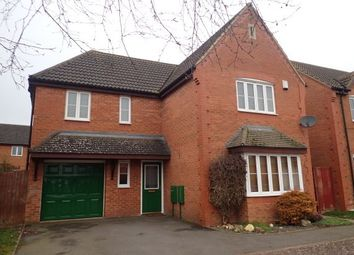 Thumbnail 4 bed detached house to rent in Diswell Brook Way, Milton Keynes
