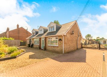 Thumbnail 4 bed detached bungalow for sale in Main Road, Three Holes, Wisbech