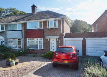 Thumbnail 3 bed semi-detached house for sale in Forest Hall Road, Forest Hall, Newcastle Upon Tyne