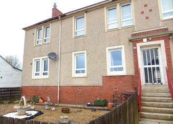 Thumbnail 3 bed flat for sale in Greengairs Road, Greengairs, Airdrie, North Lanarkshire