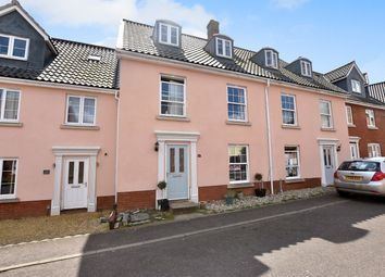 Thumbnail 4 bed terraced house for sale in Crown Meadow, Kenninghall, Norwich