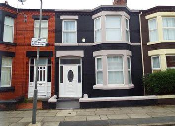 Thumbnail 3 bedroom terraced house for sale in Gorseburn Road, Tuebrook, Merseyside, England