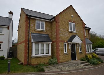Thumbnail 4 bed detached house for sale in Endeavour Close, Henlow, Bedfordshire