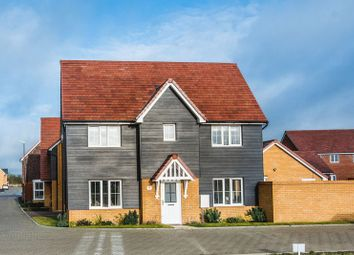 Thumbnail 3 bed detached house for sale in Broughton Crossing, Broughton, Aylesbury