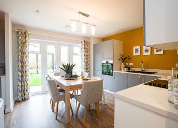 "Thumbnail 3 bed semi-detached house for sale in ""The Byron"" at Church Lane, Wistaston, Crewe"