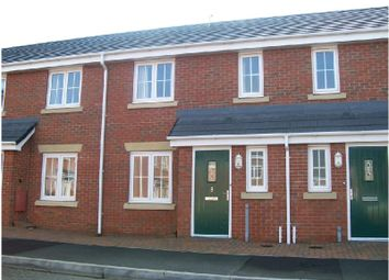 Thumbnail 3 bed town house to rent in William Bees Road, Coalville