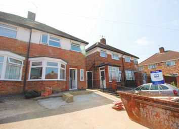 Thumbnail 3 bed semi-detached house for sale in Bryngarth Crescent, Leicester