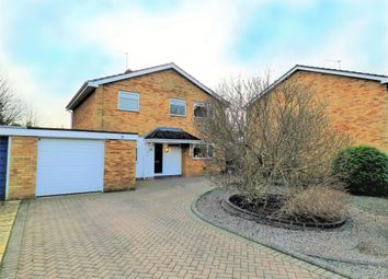 Thumbnail 4 bed detached house for sale in Rosemary Drive, Bromham, Bedford