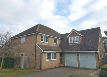 Thumbnail 5 bed detached house to rent in Carpenters Close, Gazeley, Newmarket