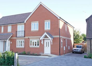 Thumbnail 3 bed semi-detached house to rent in Trent Road, Ladygrove, Didcot, Oxon