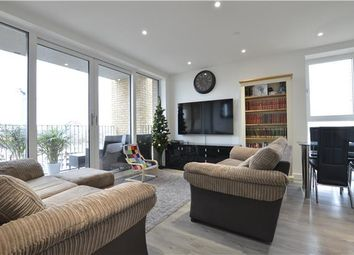 Thumbnail 2 bed flat for sale in Hawfinch House, Moorhen Drive, London