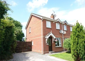 Thumbnail 3 bed semi-detached house for sale in Arindale, Moira, Craigavon