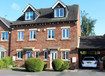 Thumbnail 3 bed town house for sale in Sundrew Avenue, Goole