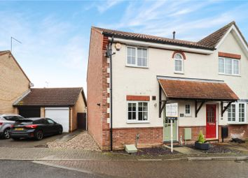 Thumbnail 3 bed semi-detached house for sale in Hidcote Way, Great Notley, Braintree