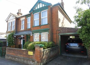Thumbnail 3 bedroom semi-detached house for sale in Darwin Road, Ipswich, Suffolk