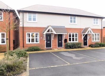 Thumbnail 2 bed semi-detached house for sale in Frearson Road, Hugglescote, Coalville