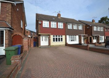 Thumbnail 4 bed semi-detached house for sale in Hall Close, Corringham, Stanford-Le-Hope