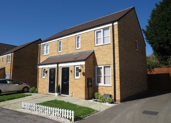 Thumbnail 2 bedroom semi-detached house for sale in Whitney Drive, Yaxley, Peterborough