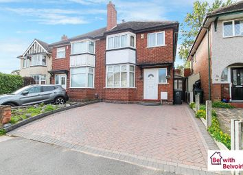 Thumbnail 3 bedroom semi-detached house for sale in Lyndhurst Road, West Bromwich