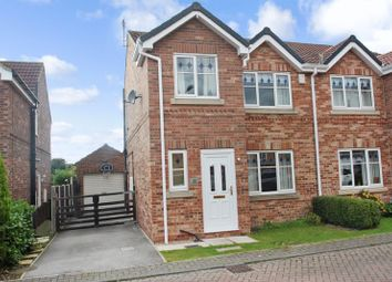 Thumbnail 3 bed semi-detached house for sale in Howard Drive, Ackworth, Pontefract