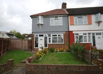 Thumbnail 3 bed end terrace house to rent in Craigmuir Park, Wembley, Middlesex