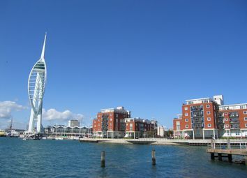 Thumbnail 2 bed flat to rent in Arethusa House, Gunwharf Quays