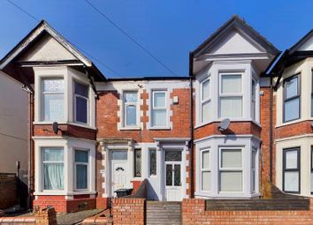 Thumbnail 3 bed terraced house for sale in Moorland Road, Splott, Cardiff.