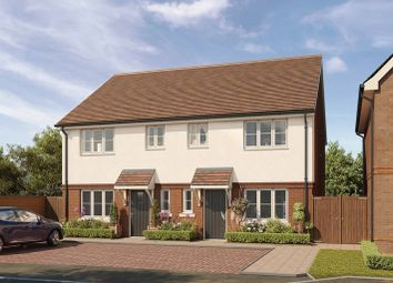 Thumbnail 3 bed semi-detached house for sale in Hellingly Green, Hailsham, East Sussex
