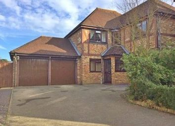 Thumbnail 4 bed detached house for sale in Cullerne Close, Ewell, Epsom