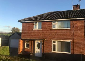 Thumbnail 3 bed semi-detached house for sale in Moldsdale Road, Mold