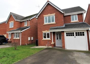 Thumbnail 3 bed detached house for sale in Gorse Close, Ruabon, Wrexham
