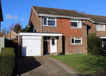 Thumbnail 4 bed detached house for sale in Rother Close, Crowborough, East Sussex