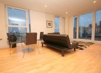 Thumbnail 2 bed flat to rent in Lanterns Way, South Quay - E14,