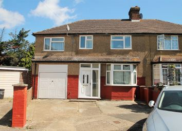 Thumbnail 5 bed semi-detached house to rent in Princes Park Parade, Hayes, Greater London