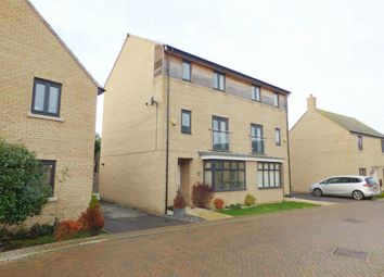 Thumbnail 4 bed town house for sale in Tern Drive, St. Ives, Huntingdon