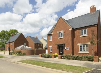 "Thumbnail 4 bedroom detached house for sale in ""Mitchell"" at Michaels Drive, Corby"
