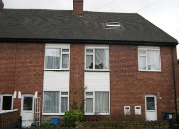 Thumbnail 1 bed flat to rent in St. John Street, The Leys, Tamworth, Staffordshire