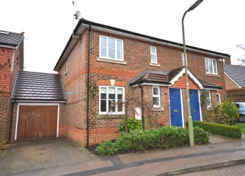 Thumbnail 3 bed semi-detached house for sale in Wood End, Chineham, Basingstoke
