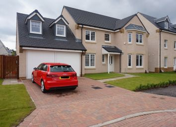 Thumbnail 5 bedroom detached house for sale in Wester Kippielaw Park, Dalkeith