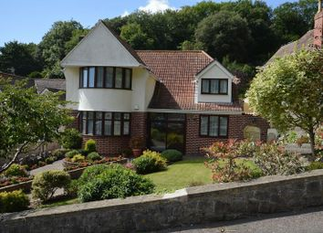 Thumbnail 4 bedroom detached house for sale in Leewood Road, Weston-Super-Mare